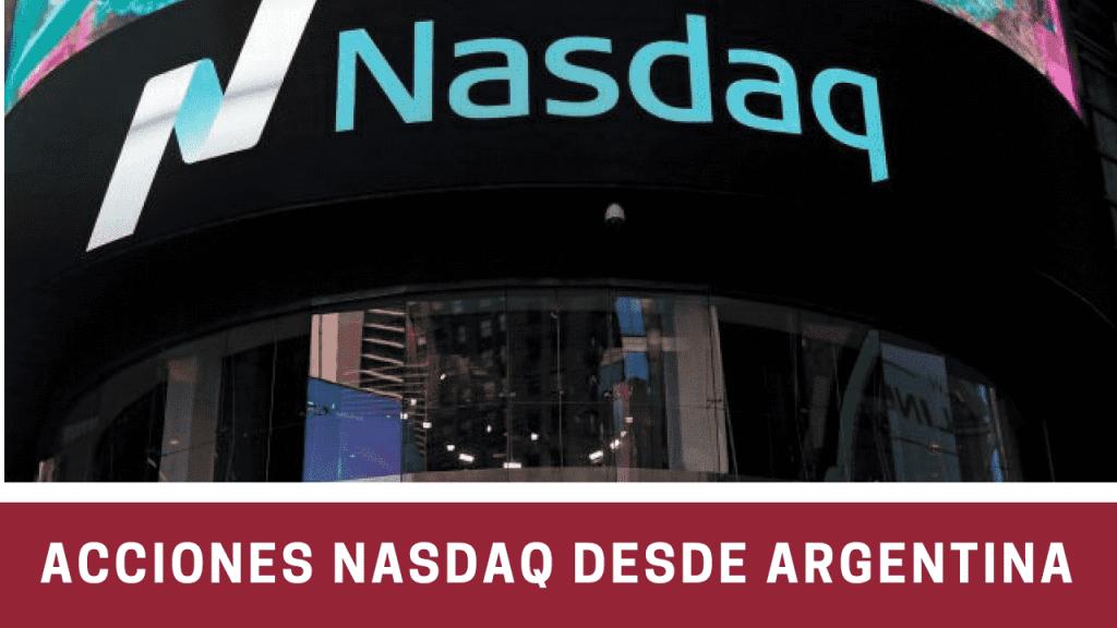 acciones Nasdaq desde Argentina