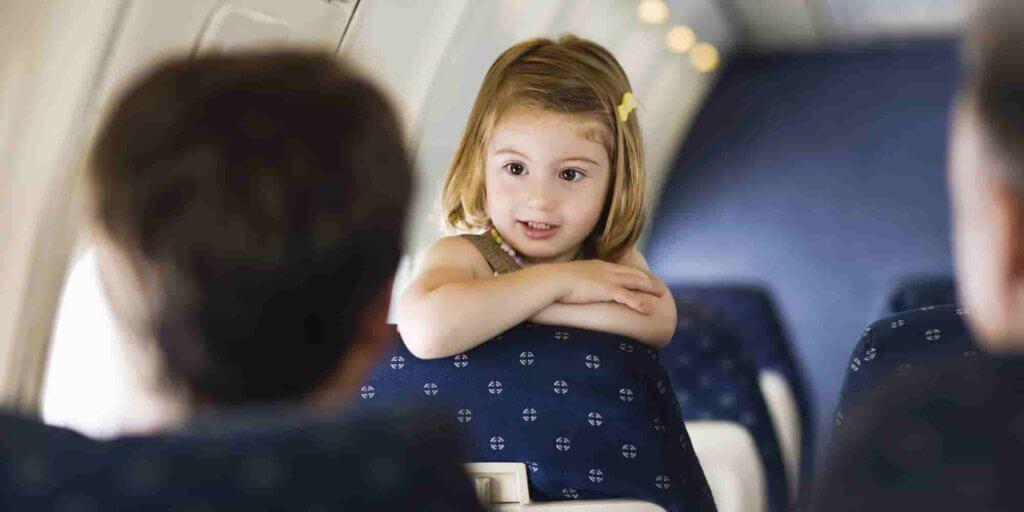 viaje en Avión con Niños
