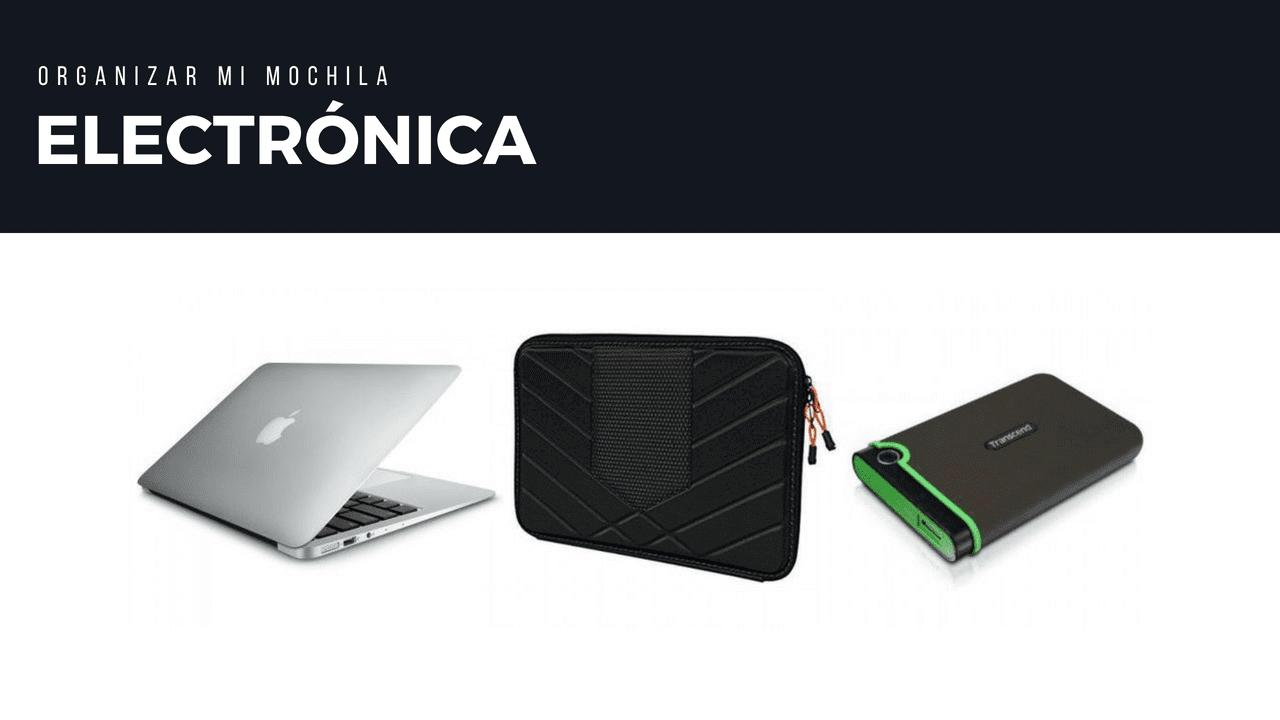 llevar una macbook air y un movil en mi mochila