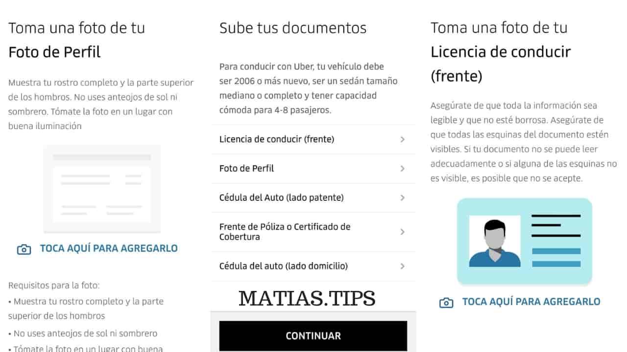 requisitos auto uber argentina